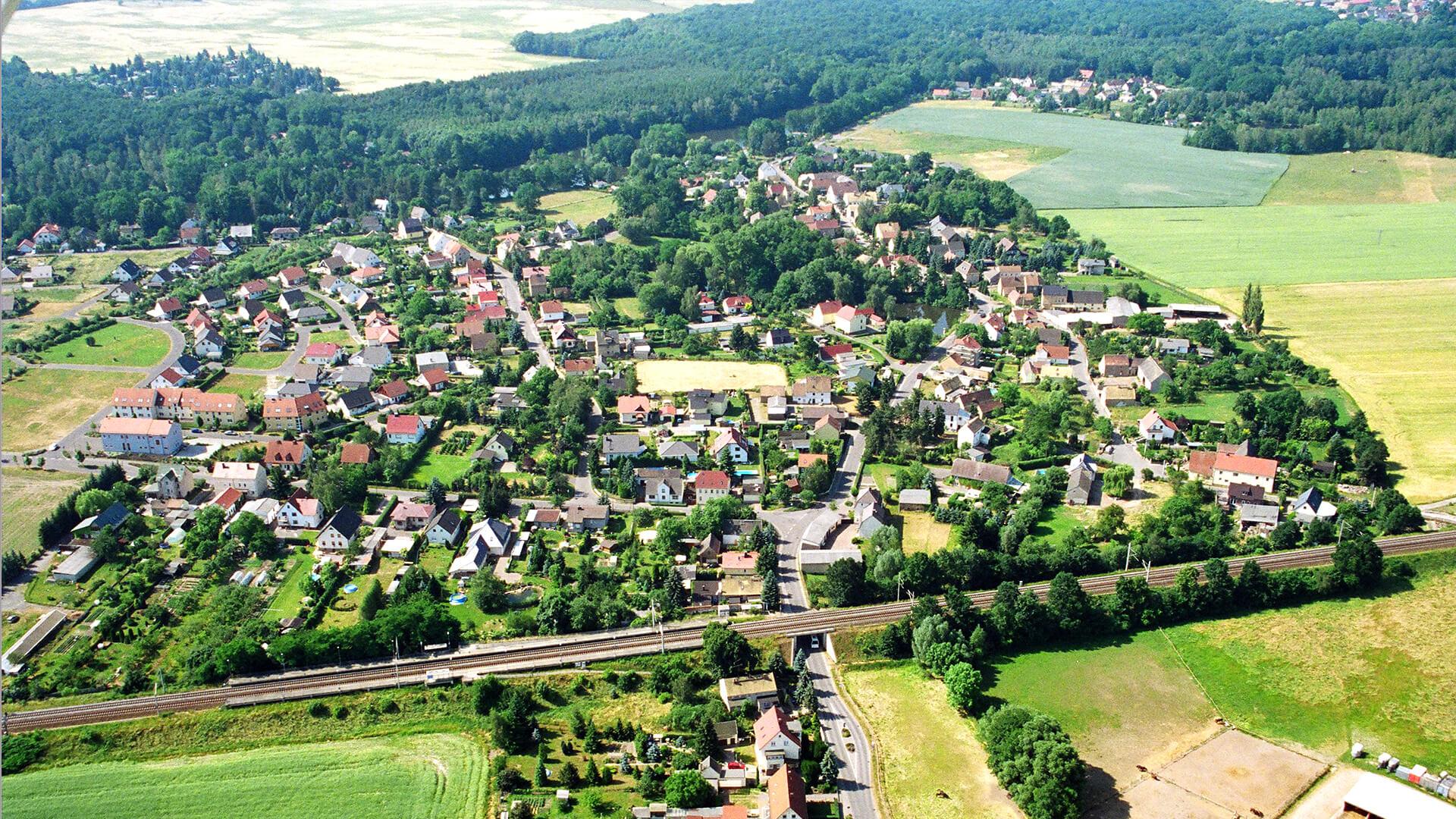 Luftbildhintergrund Altenbach