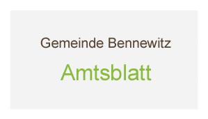 Bannerblock 3 - Amtsblatt